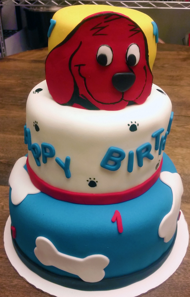 Clifford Birthday Cake The Enchanted Whisk
