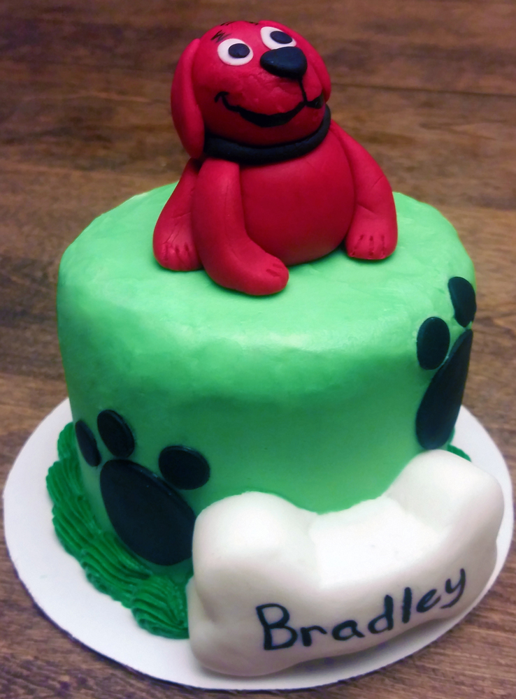 Clifford Birthday Smash Cake The Enchanted Whisk